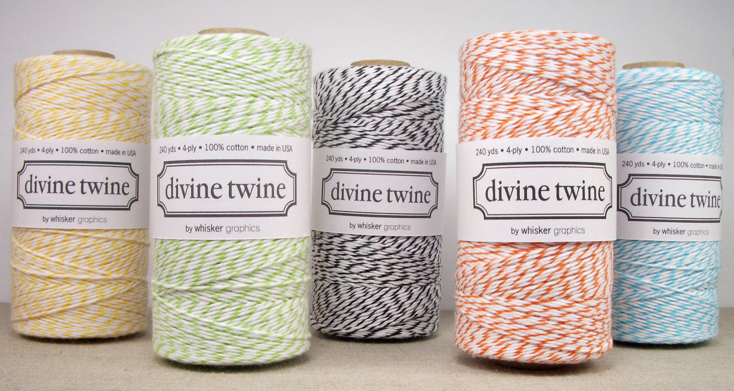 a m a n d a: DIY Bakers Twine