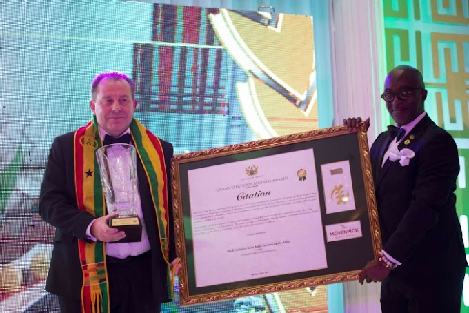 Mövenpick Ambassador Hotel wins Award for Excellence in Hospitality