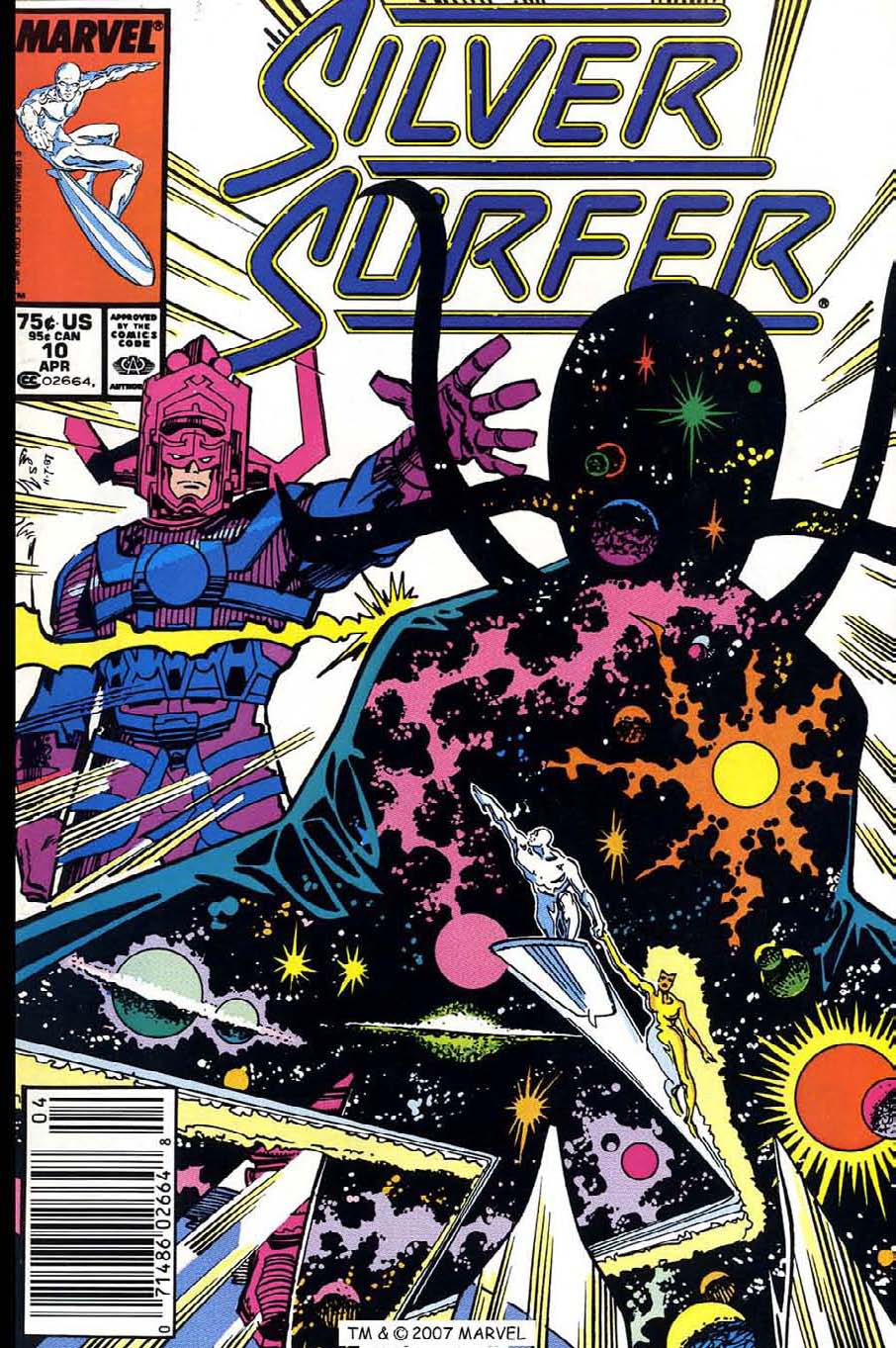 Read online Silver Surfer (1987) comic -  Issue #10 - 1