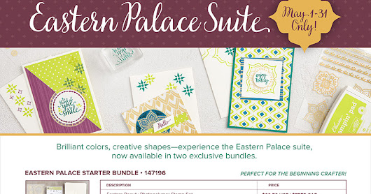 Eastern Palace Bundles - Pre-Release Promotion May 1st to 31st