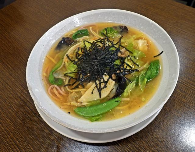 味噌什蔬湯麵