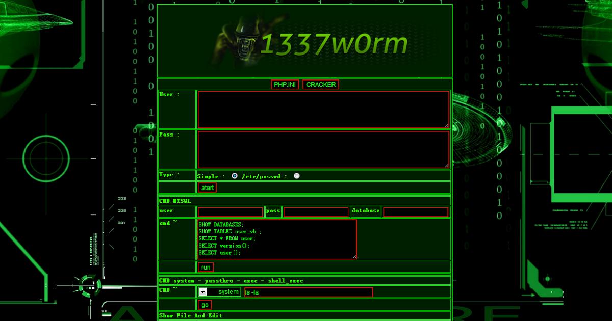 Cpanel : 1337w0rm | Hack3r-IQ