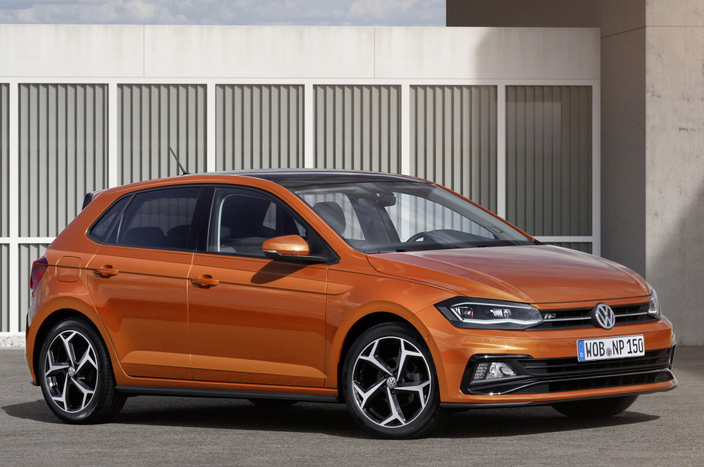 new 2017 volkswagen polo first photos including the gti carscoops. Black Bedroom Furniture Sets. Home Design Ideas