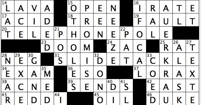 Rex Parker Does the NYT Crossword Puzzle: Eco-conscious