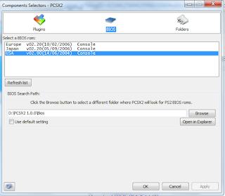 Cara Setting BIOS PCSX2