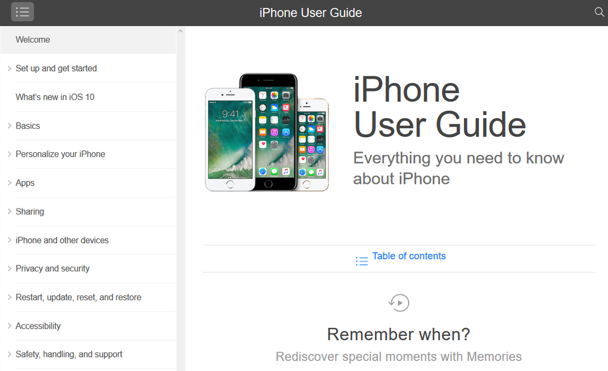 Apple Iphone Instruction Manual