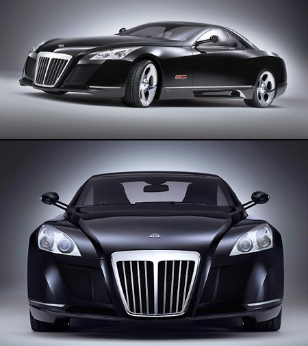 The Information Centre: Maybach Car