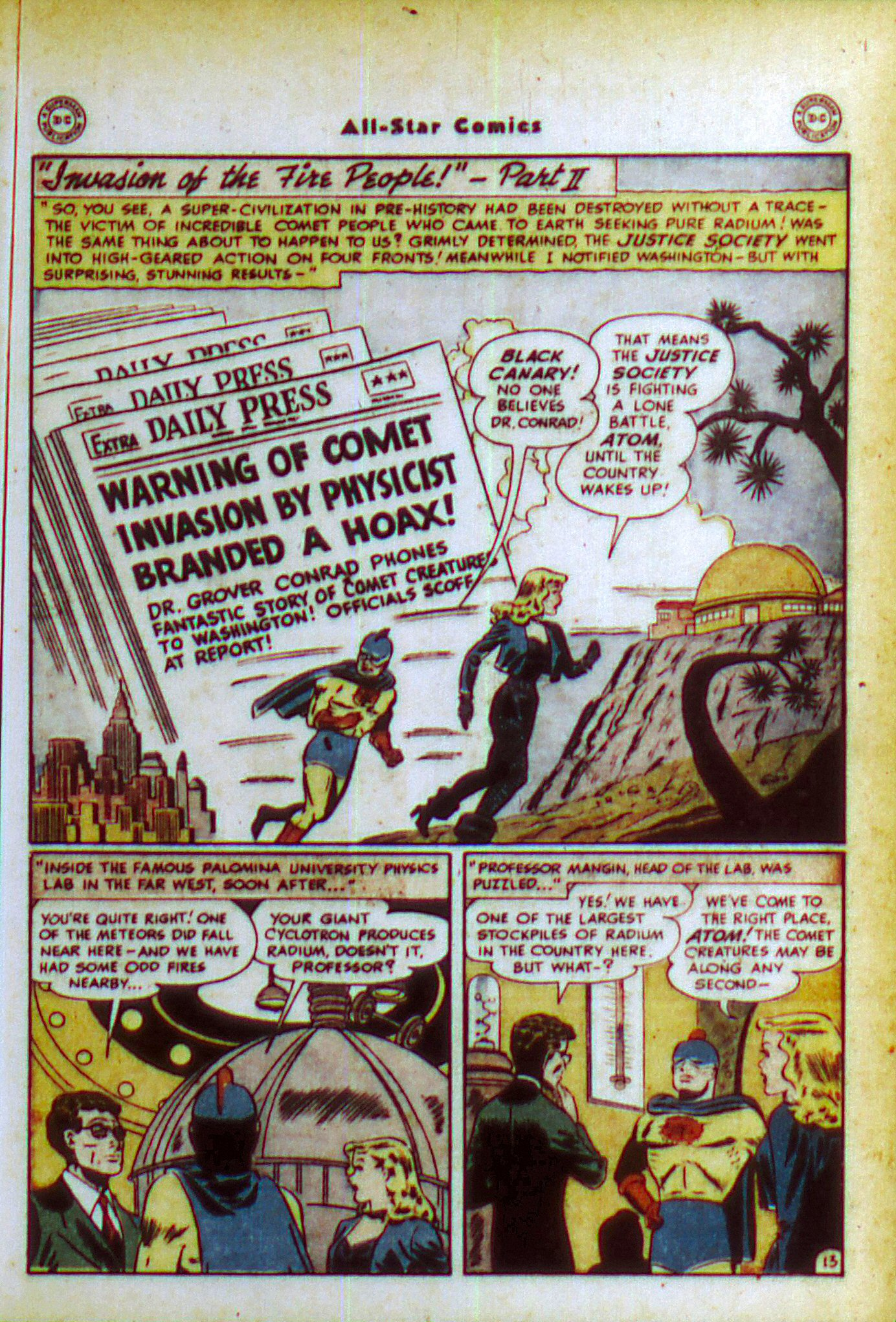 Read online All-Star Comics comic -  Issue #49 - 16