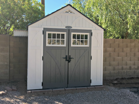 A New Shed