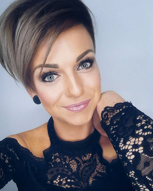 pixie cut for older women 2019