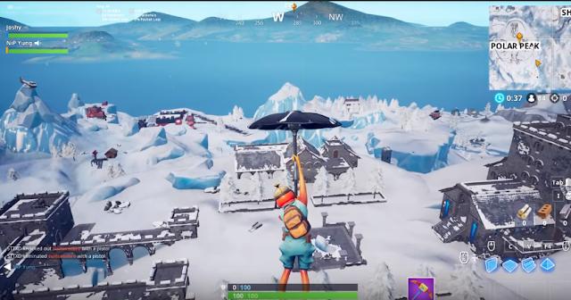 Fortnite Ice storm event