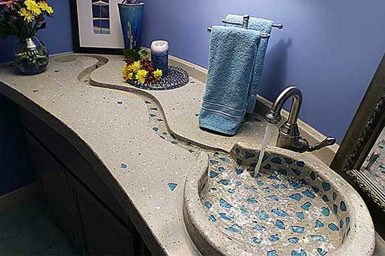 Pias de banheiro bizarras - caminho das águas
