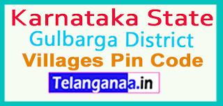 Gulbarga District Pin Codes in Karnataka State