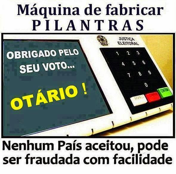 Resultado de imagem para urna eletronica fraude