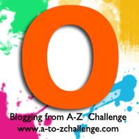 O is for Orange #AtoZChallenge