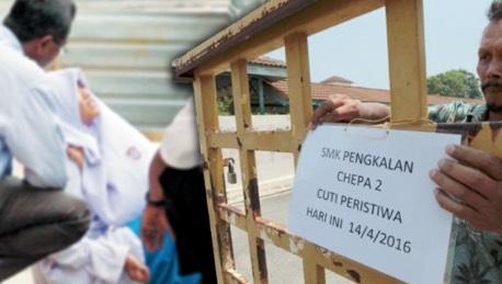 Kecoh! 3 Sekolah dan Ratusan Pelajar di Kelantan Kena Histeria