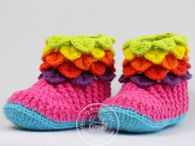 Kolorowe buciki