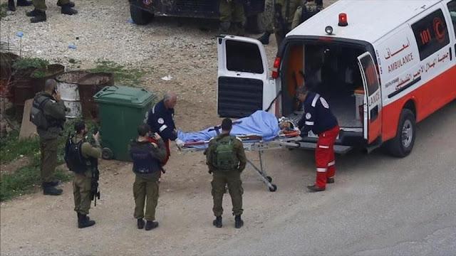 """""""Israel roba por sistema órganos de palestinos muertos en choques"""""""