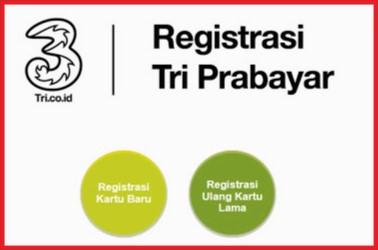 Cara Registrasi Ulang Kartu Tri 3 Terbaru  ARAHMATH CELL