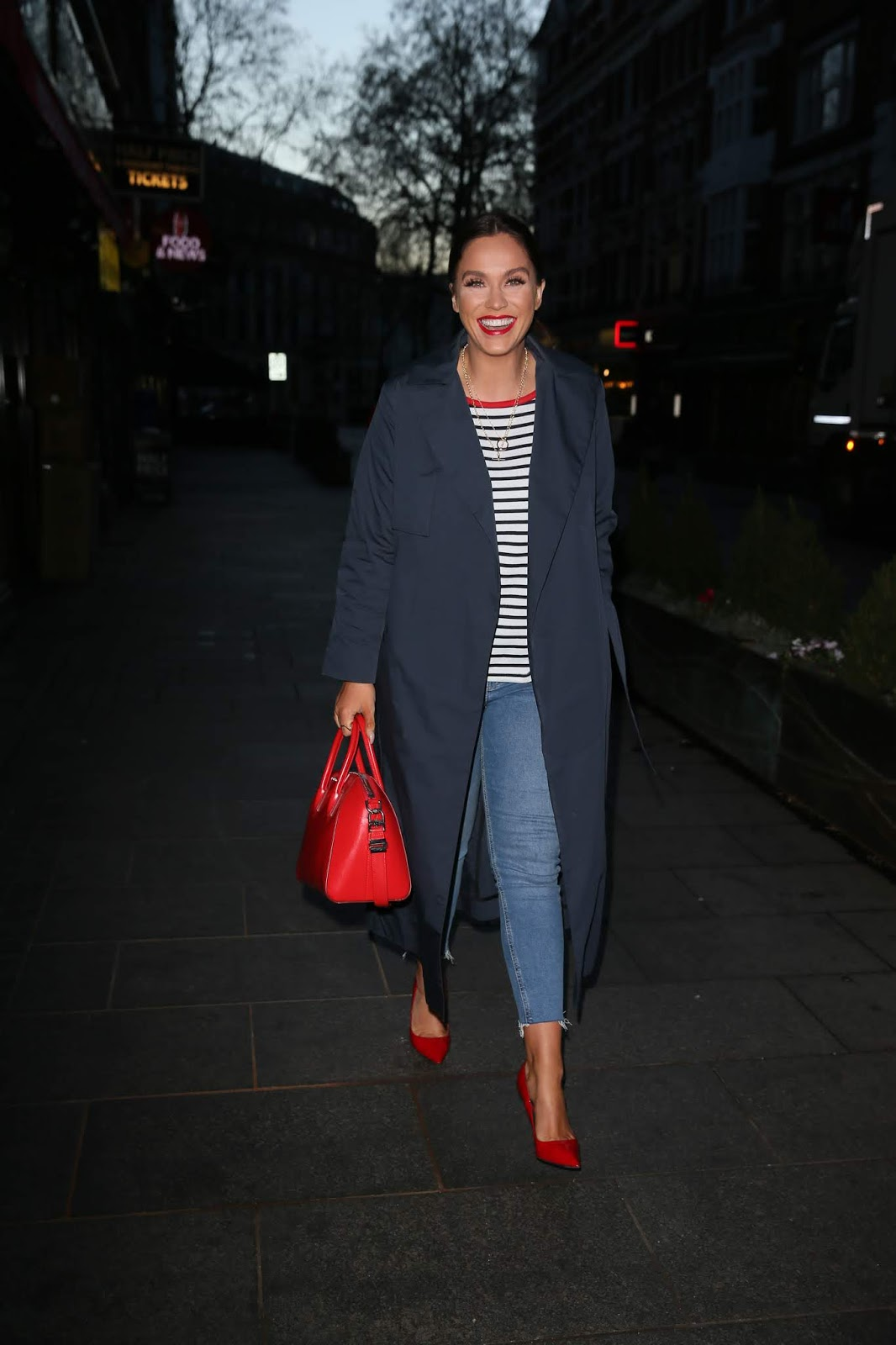 Vicky Pattison at Global Radio Studios in London - 01/30/2019