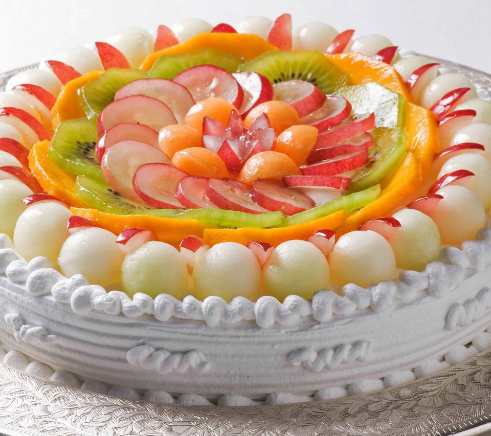 Cakes With Fruit Recipes