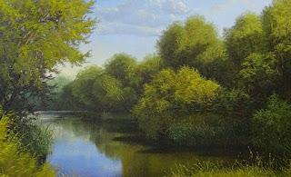 cuadros-oleo-encantadoras-vistas-naturales panoramas-pinturas-realistas
