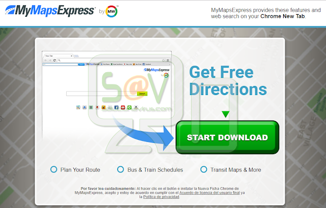MyMapsExpress (New Tab)