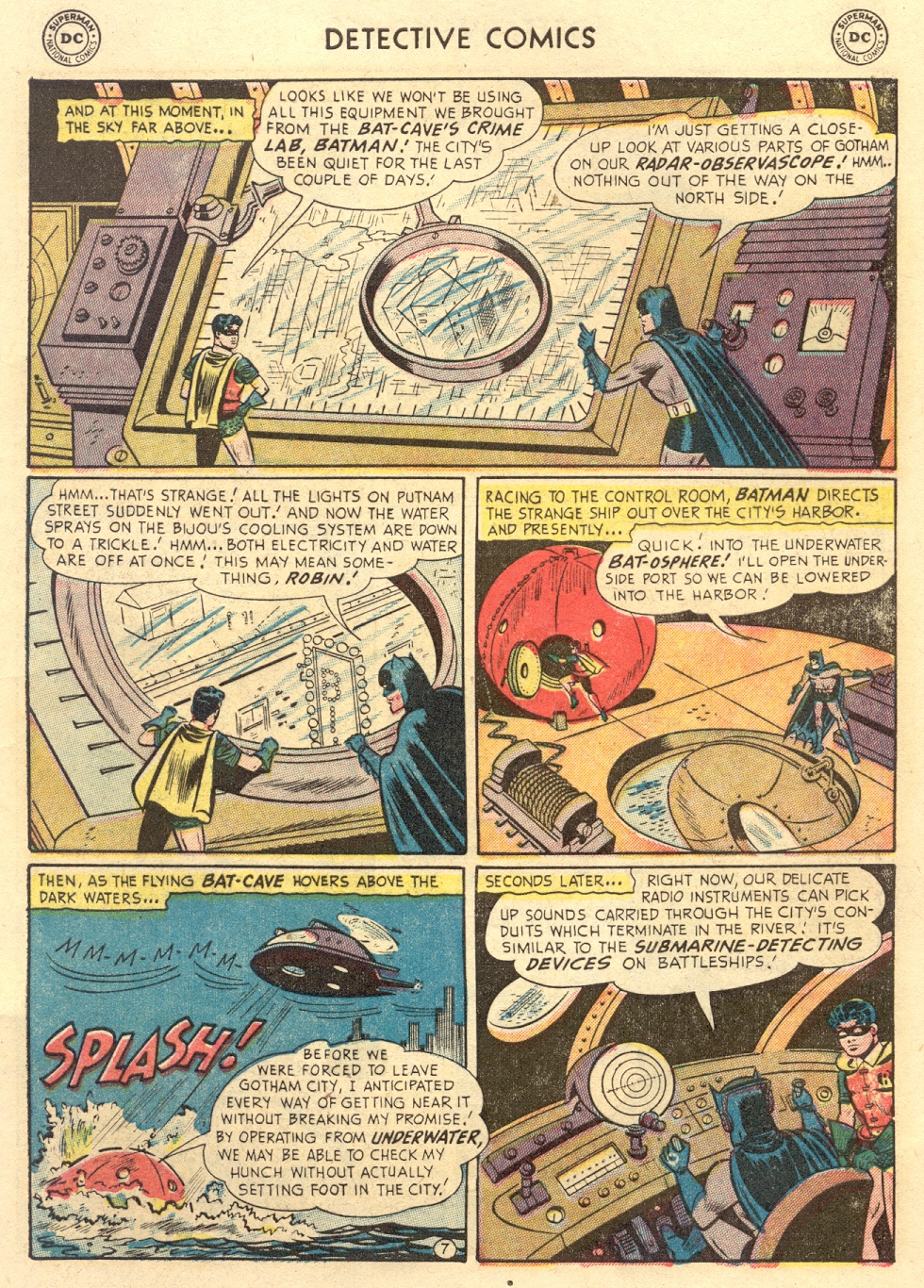 Read online Detective Comics (1937) comic -  Issue #186 - 9