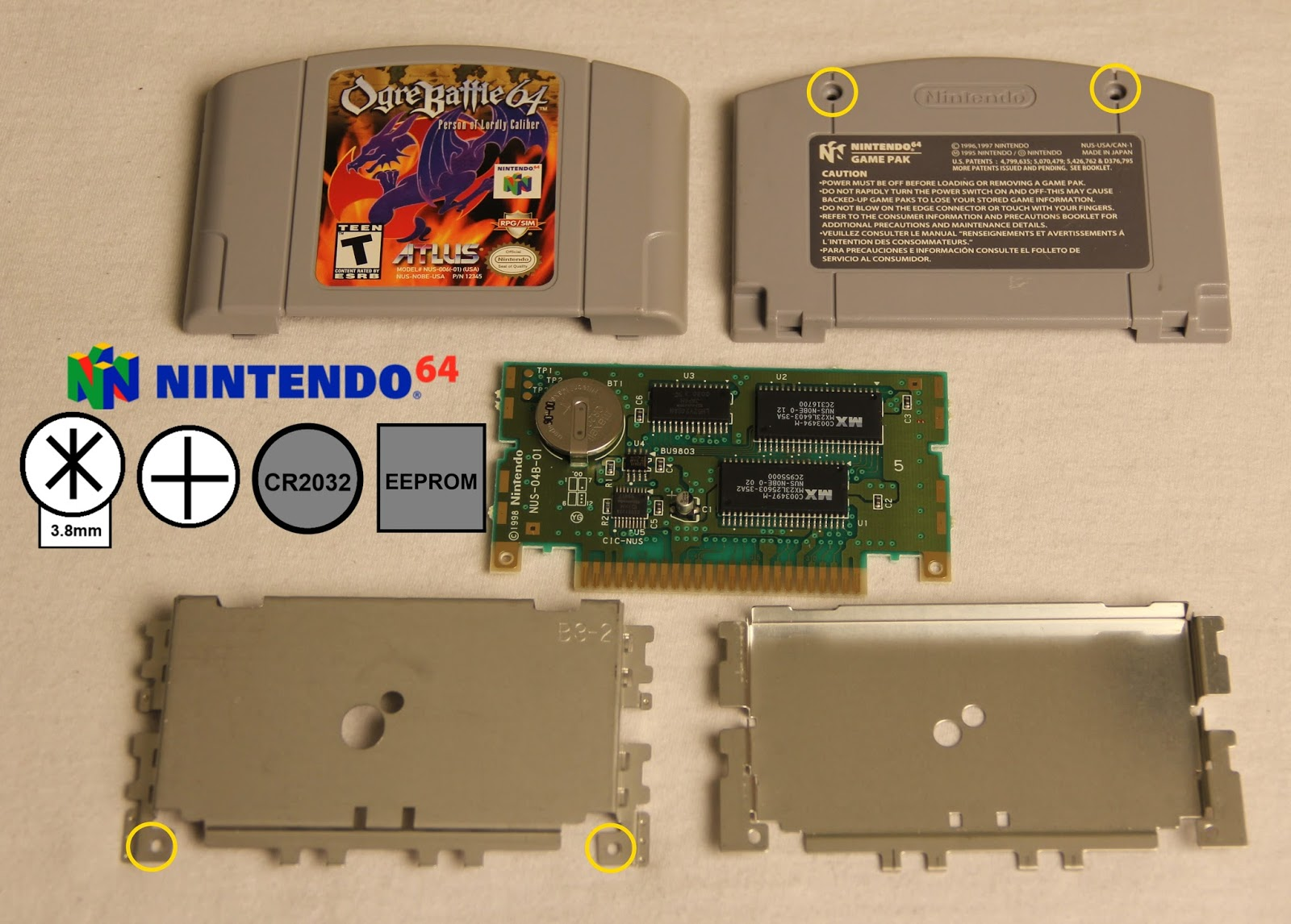 Video Game Collecting Guides And Articles Guide To All Nintendo 64 Av Cable Wiring Diagram Cartridge