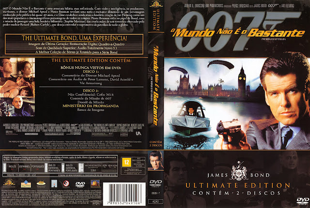 Capa DVD O Mundo Não é o Bastante