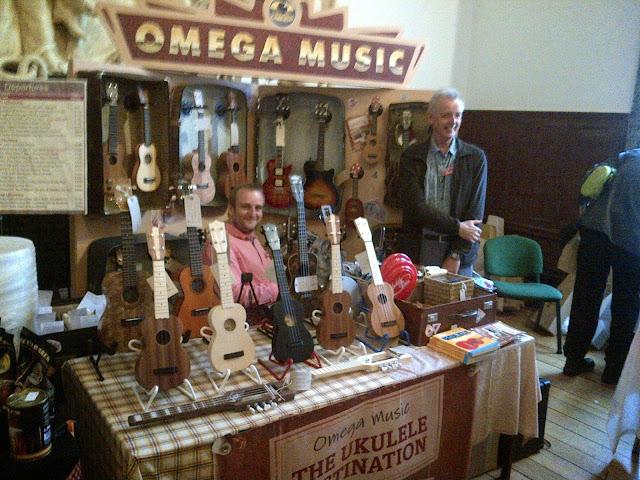 Omega Music at Grand Northern Ukulele Festival