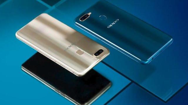 Layar dan Desain smartphone Oppo A7