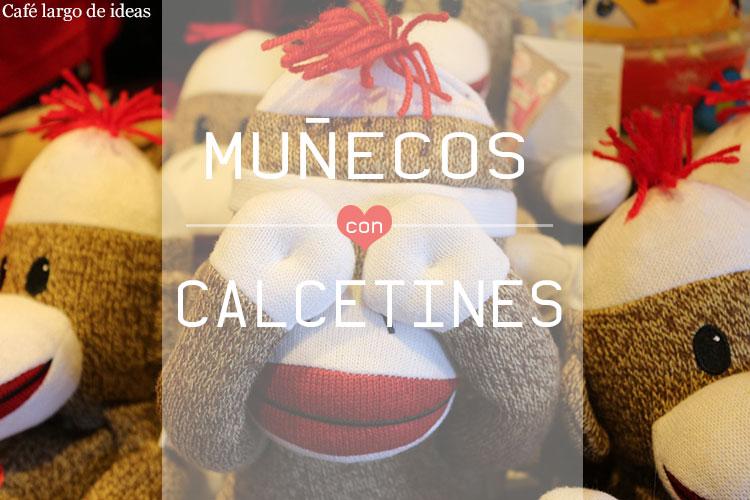 muñecos hechos con calcetines