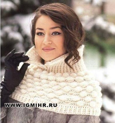 Patrón #775: Bufanda Cuello a Crochet