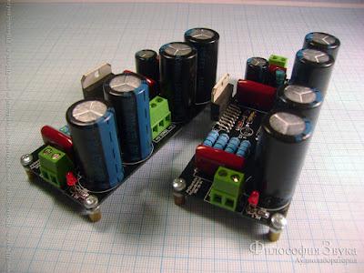 "Модули усилителя ""Кристалл"" на микросхеме TDA7294"