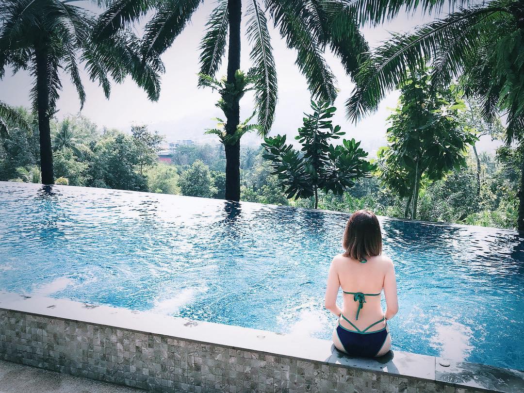 會想念泰國的太陽,清澈的海水