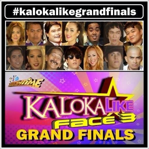 Kalokalike Face 3 Grand Finals