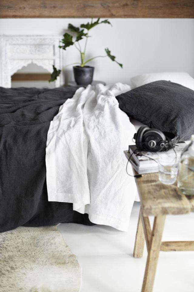 Vestir la cama con lino