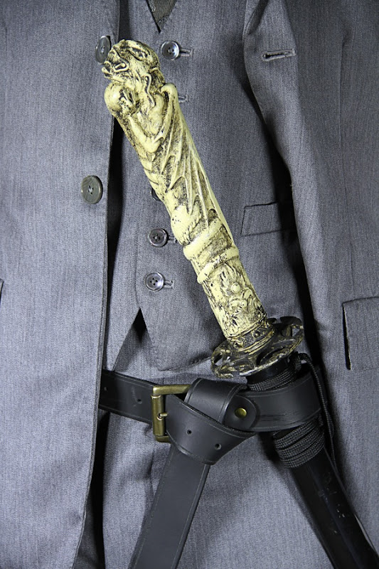 Alexander Grayson Dracula costume and sword
