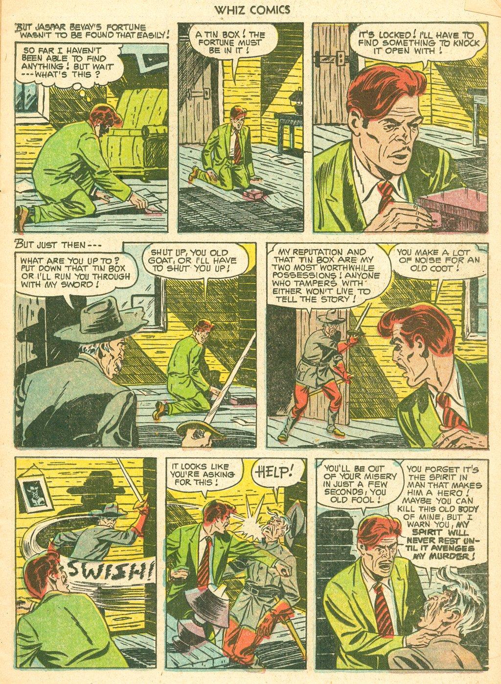 WHIZ Comics #155 #156 - English 11