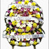 Karangan Bunga Berupa Bulat Kirim Ke Pasar Minggu