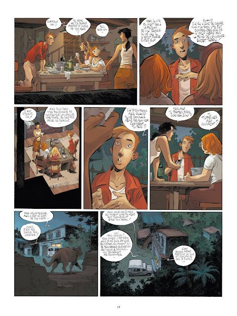 Un putain de salopard Tome 1 - Isabel aux éditions Rue de Sèvres Page 13