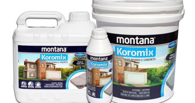 KOROMIX Impermeabilizante para concreto aparente, tijolo à vista, telhas e pedras