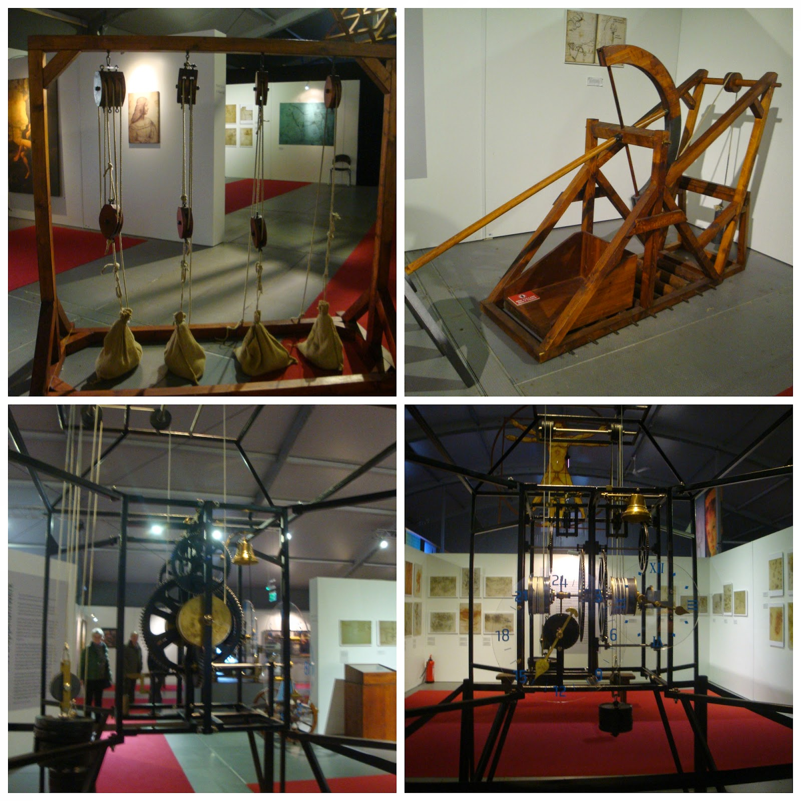 Da Vinci exploring arts & science die Austellung em Berlim