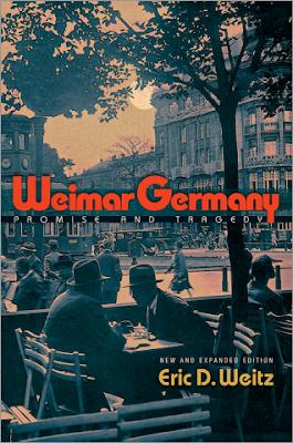Weimar Germany - livre de Eric Weitz