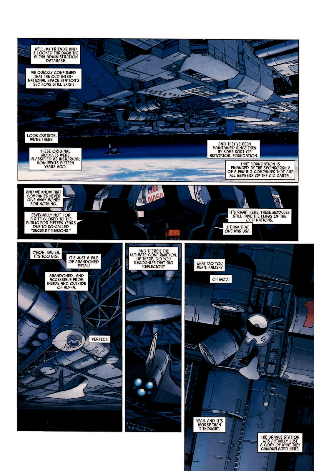 Read online Universal War One: Revelations comic -  Issue #1 - 39