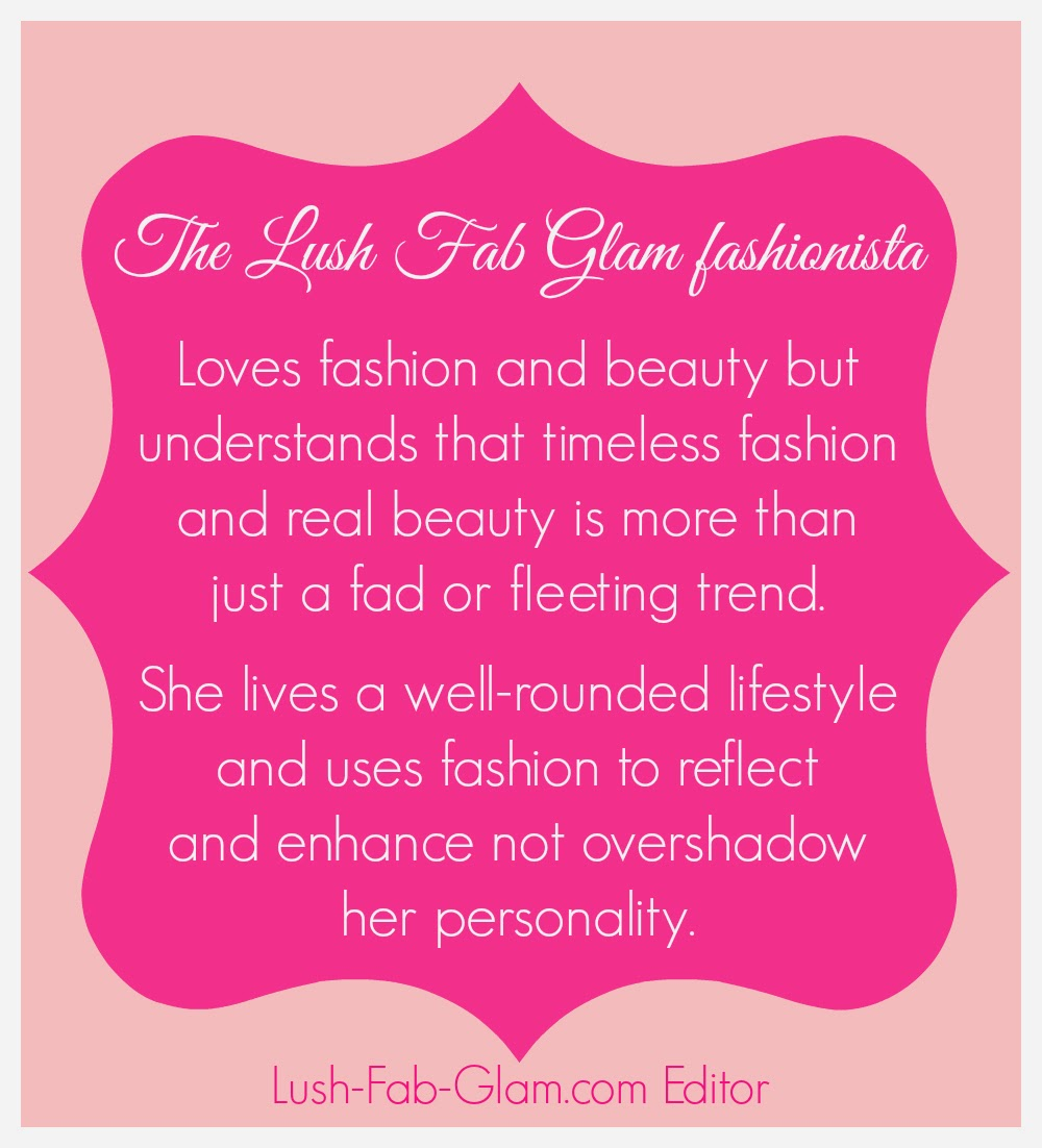 Fabulous Quotes: Lush Fab Glam Blogazine: Friday Five: Fabulous Fashion