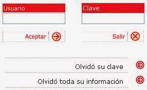 Como recuperar el usuario, Clave, o correo del SENIAT 1