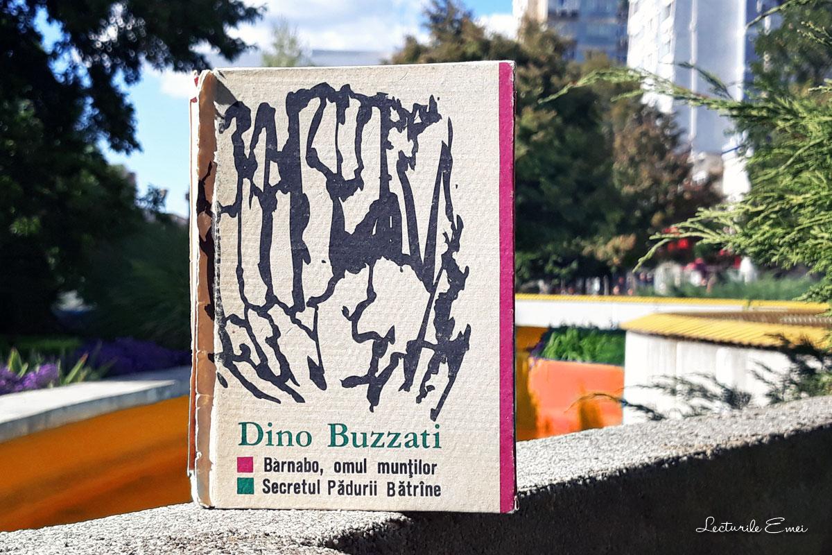 recenzie carte Barnabo, omul munților Secretul Pădurii Bătrâne Dino Buzzati