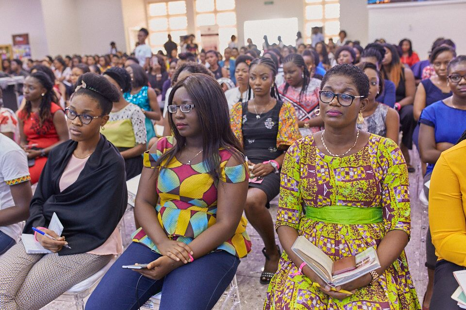 Esther Adeniyi at Becoming conference 2017